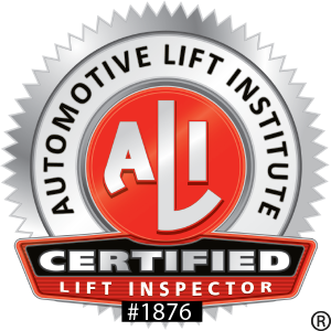 ALI Lift Certification Stansbury Equipment
